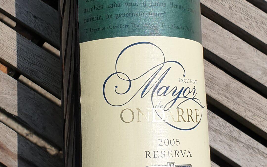 Mayor de Ondarre – Rioja Reserva 2005